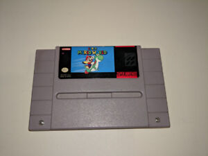 Super Mario World SNES Super Nintendo
