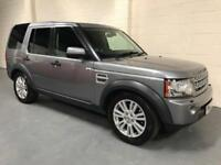2013 LAND ROVER DISCOVERY 4 3.0SDV6 ( 255bhp ) AUTO COMMERCIAL,FSH,STUNNING....