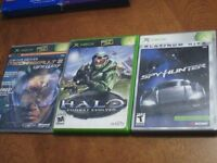 XBOX video game collection