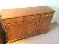 Sideboard - antique pine