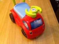 Smoby toddler walker/ ride on