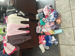 Baby girl newborn up to 6 months. Lowered price