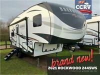 NEW 2021 Forest River Rockwood 2445WS • 5th Wheel American RV Caravan