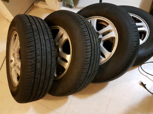 For Sale used summer tire & with Mag