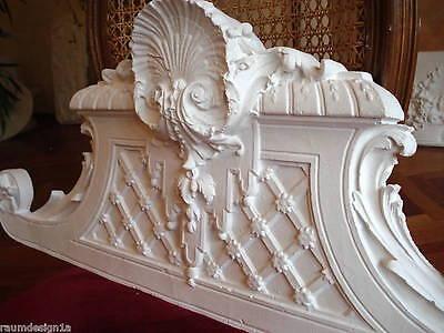 Stucco - wunderschöne Türbekrönung 104-368 aus Stuck -  Supraporte 100 x 34 cm