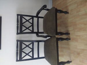 6 Dining room / kitchen table chairs
