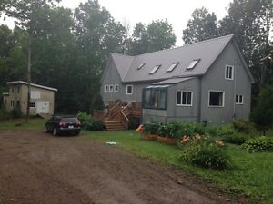 Large timberframe home for rent October 1st