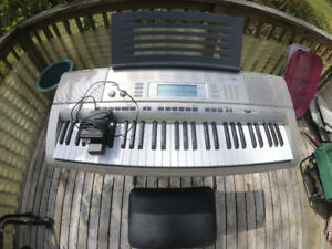 Midi Keyboard with lighted Keys