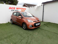 2014 HYUNDAI i10 1.2 PREMIUM 5 DR ONLY 37000 MILES WITH FULL SERVICE HISTORY