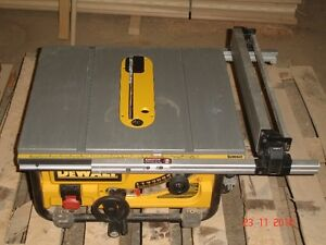 Dewalt Portable Table Saw London Ontario image 1