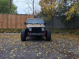 2001 Jeep Wrangler ( Rat Rod Edition )