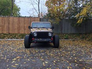 2001 Jeep Wrangler ( Rat Rod Edition )