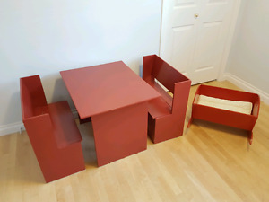 Kid's Table & Chairs Set