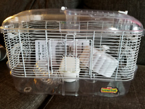 Hamster, gerbil,cage