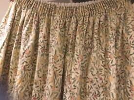 Pair of Heavy lined curtains