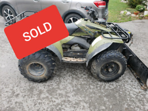 Polaris sportsman 400 4x4