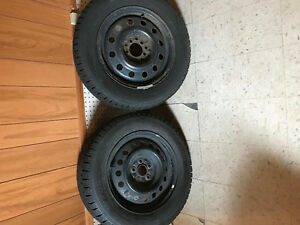 Moving sale: 4 winter tires