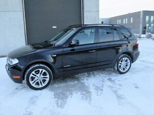 BMW X3 2010 3.0 LITRES 71,900KM CUIR TOIT PANO VOLANT CHAUFFANT