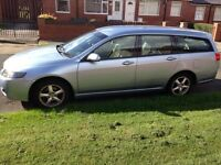 05 REG HONDA ACCORD 2.2 DIESEL ICTDI SPORT ESTATE