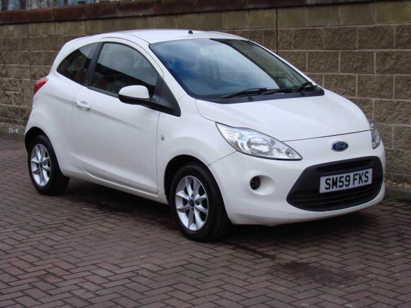 finance available white 2009 ford ka style 1 2 3dr fsh. Black Bedroom Furniture Sets. Home Design Ideas