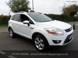 FORD KUGA TITANIUM X TDCI 4x4 AWD Full Ford History 1 Owner Huge Spec, White, Ma