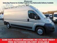 2011 61 CITROEN RELAY LWB, L3H2, FULL DOCUMENTED HISTORY, FACTORY SILVER 1 OWNER