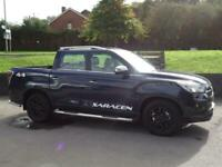 2020 Ssangyong Musso Double Cab Pick Up Saracen 4dr Auto AWD PICK UP Diesel Auto