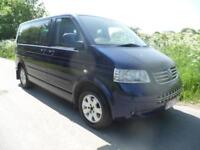 57/2008 REG.Volkswagen Caravelle 7 SEATER/BED WARRANTED MILES