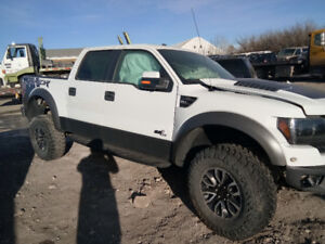 2012 Ford F-150 Raptor Truck buy Complete buy parts