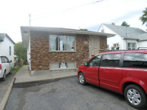 3 bed room, rec. room, 2 car parking utilities included