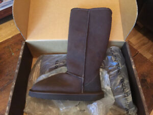 UGG brown boots   brand new!!
