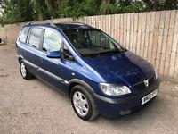 2003 03 Vauxhall/Opel Zafira 1.8i 16v Elegance 7 SEATS 40.9 MPG P/X