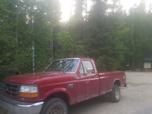 1996 Ford F-150 Single Cab 8ft Box Pickup Truck