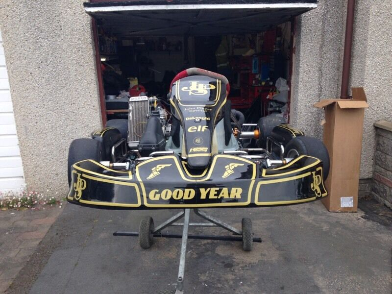 rotax max 125 senior gillard kart in fraserburgh. Black Bedroom Furniture Sets. Home Design Ideas