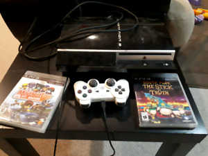Ps3 with one controller 2 games