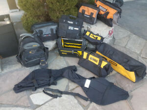 NEW DeWalt / Porter Cable Tool Bags / CHAINSAW BAGS /CASES