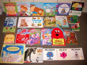 25 Baby/Kids' Books