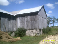 GOOD HELP WANTED FOR BARN DEMOLITIONS