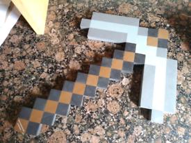 Minecraft Foam pickaxe