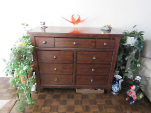 Beautiful Ashley Man's Dresser or Dining Room Hutch Gatineau Ottawa / Gatineau Area image 1