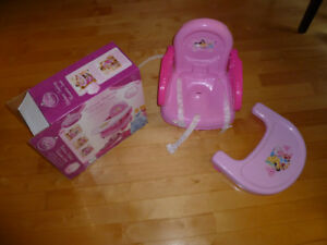 Disney deluxe folding booster seat