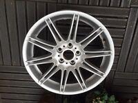 """BMW Mv4 19"""" Rear Alloy wheel"""