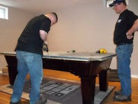 Full-Time Pool Table Installer & Service Technician  $20 - $25/h