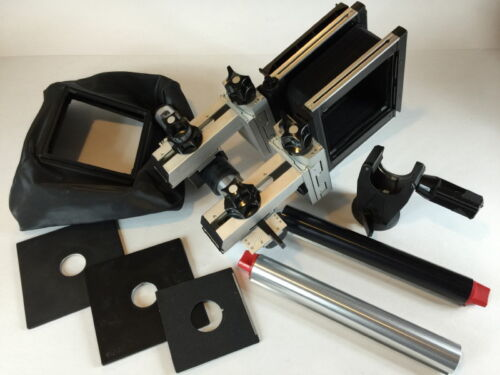 GENUINE SINAR SQUARE BELLOWS RAIL CASE KIT for 4x5 FORMAT CAMERA SYSTEMS