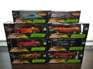 Fast and Furious Die Cast 1/18 Collection