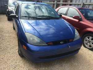 2004 Ford Focus Sedan Local Trade In! AS IS! NO SAFETY!