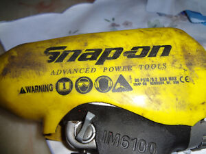 Impact wrench ,cle a choc snapon West Island Greater Montréal image 2