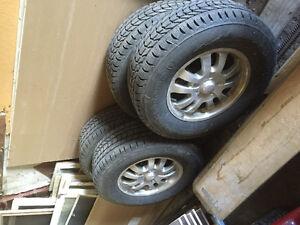Mags et pneus d'hiver