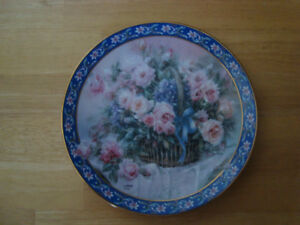 Lena Liu's Limited Edition Collector Plate: Roses