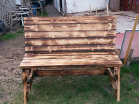 Garden/Patio/Fire Bench...Adult/Child Picnic Table